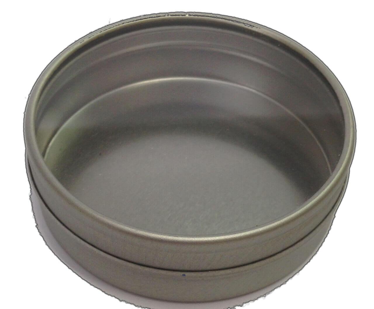 Metalldose für RohkaffeeMusterSet